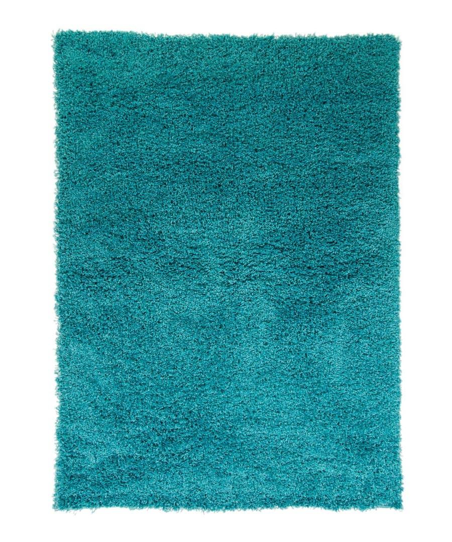 Turquoise textured rug 80 x 150cm Sale - cariboo