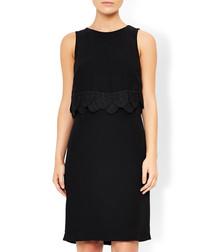 Emily black sleeveless dress