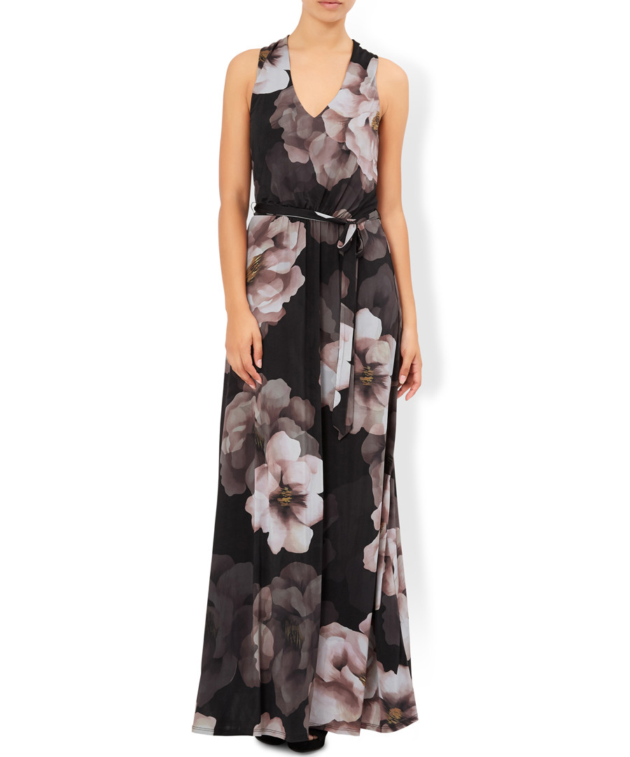Matilda black floral maxi dress Sale - monsoon