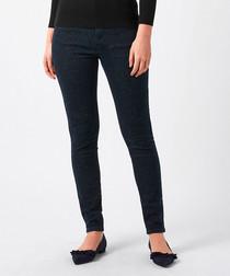 Nadine indigo cotton blend skinny jeans