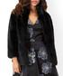 Anastasia black faux fur coat Sale - monsoon Sale
