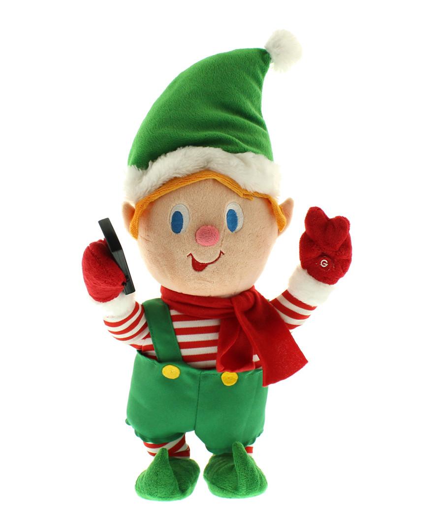 Selfie Elf animation 37cm Sale - Festive