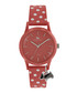 Coral spotted strap silicone watch Sale - radley Sale