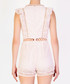 Light pink sleeveless cut-out playsuit Sale - true decadence Sale