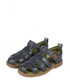 Kids' Orin blue leather sandals Sale - kickers Sale