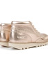 Kids' rose gold leather lace-up boots Sale - kickers Sale