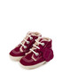 Kids' burgundy suede lace-up boots Sale - KICKERS Sale