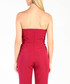 Purple strapless jumpsuit Sale - CARLA BY ROZARANCIO Sale