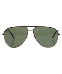 Black & green sunglasses