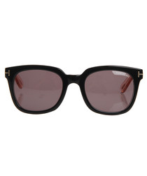 Black & grey square sunglasses
