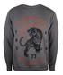 Heather grey cotton blend jumper Sale - seventy seven Sale