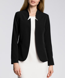 Black notch jacket