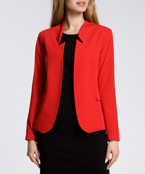 Red notch jacket
