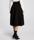 Black pleated pocket skirt Sale - made of emotion Sale