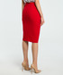 Red wool blend pencil skirt Sale - made of emotion Sale