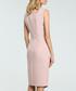 Powder V-neck sleeveless pencil dress Sale - made of emotion Sale