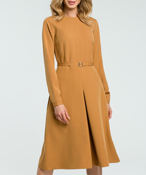 Cinnamon long sleeve dress