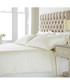 Eton cream cotton double duvet set Sale - riva paoletti Sale