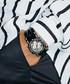 Phantom black steel & diamond watch Sale - jbw Sale