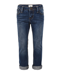 Boys' cotton straight jeans