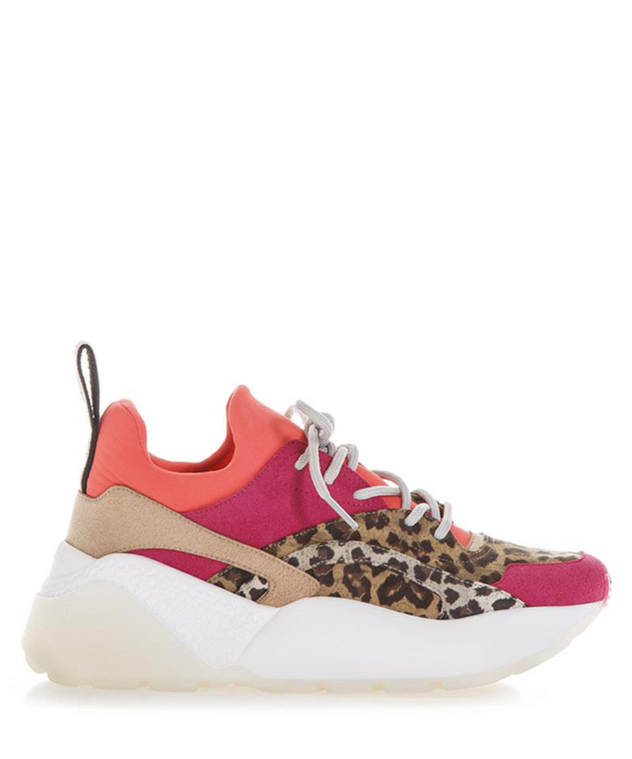 Multi-colour leopard print sneakers Sale - stella mccartney