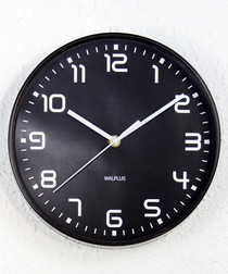 ChicTime black wall clock