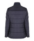 Navy quilted button-up coat Sale - Jimmy Sanders Sale