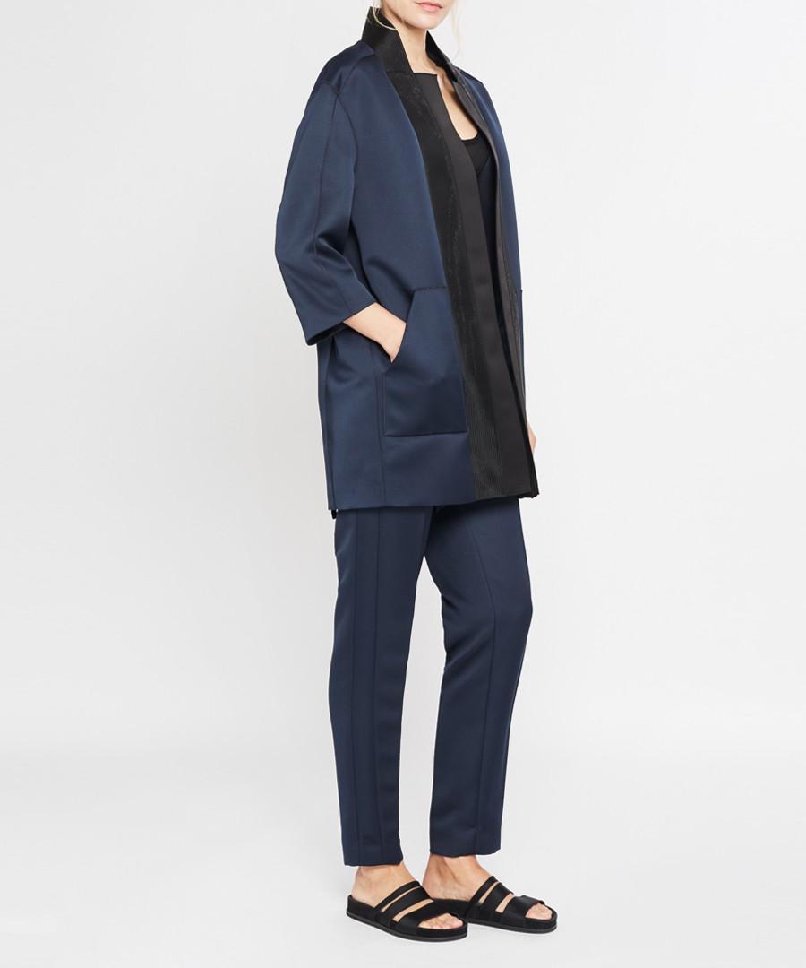Midnight panel coat Sale - Amanda Wakeley