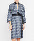 Dark blue print long sleeve dress Sale - amanda wakeley Sale