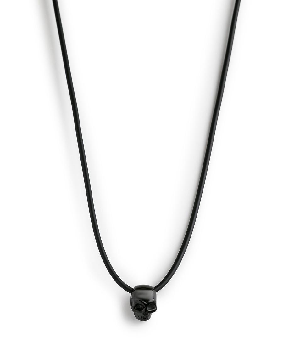 Black silicon skull necklace Sale - monomen