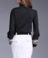 Black print button-up shirt Sale - Kaimilan Sale
