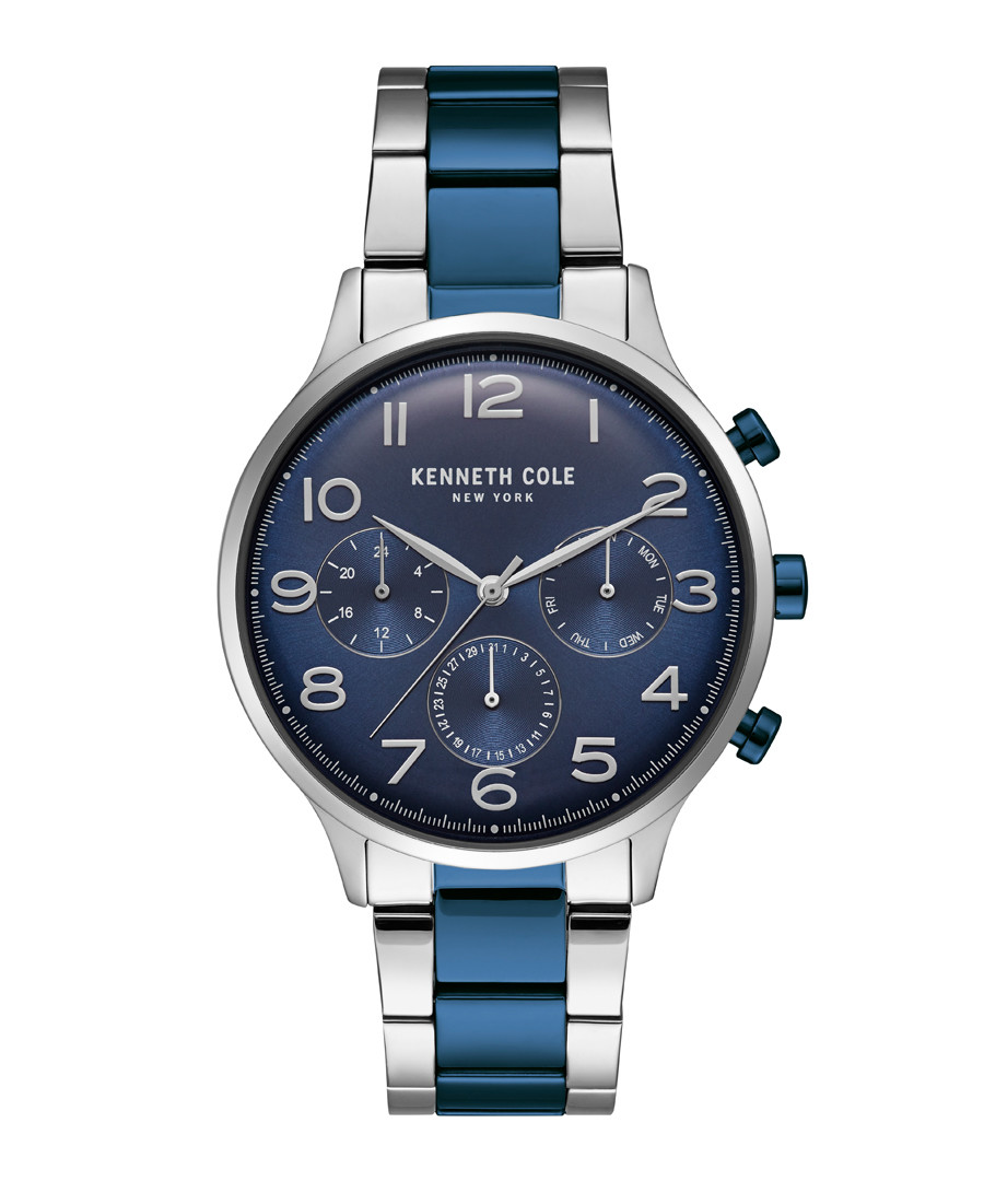Two-tone stainless steel quartz watch Sale - ken cole