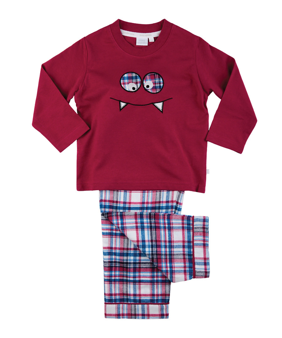 2pc multi-colour monster pyjama set Sale - Mini Vanilla
