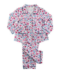 2pc floral print cotton pyjama set