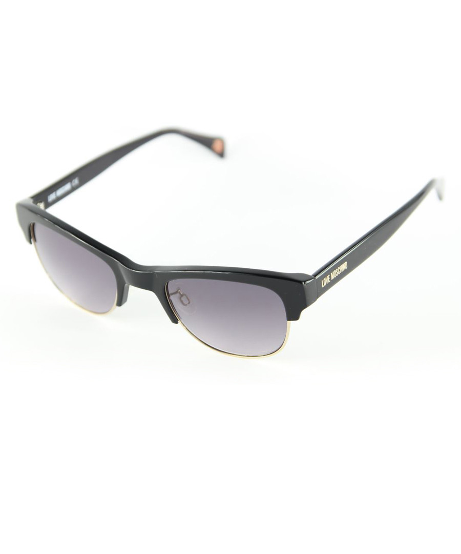Black & grey sunglasses Sale - moschino love