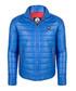 Blue quilted short coat Sale - giorgio di mare Sale