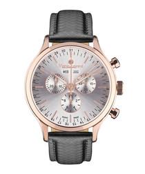 Tournante Silber rose-gold tone watch