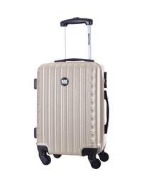 Sweety beige spinner suitcase 56cm