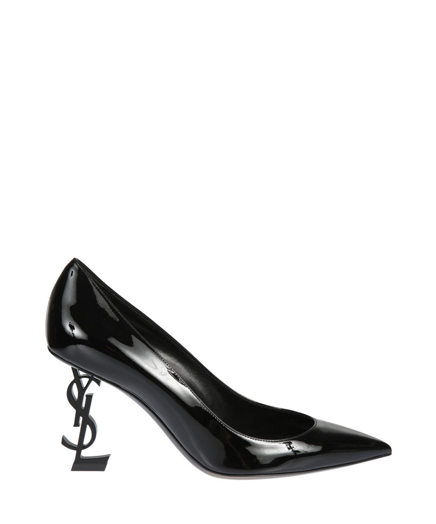 Opyum black leather pointed heels Sale - saint laurent