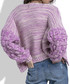 Crocus wool blend knit cardigan Sale - fobya Sale