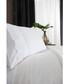 Ashanti white cotton double duvet set Sale - lyndon Sale