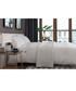 Bruges white cotton single duvet set Sale - lyndon Sale