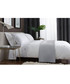 White & grey cotton double duvet set Sale - lyndon Sale