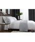 White & grey cotton king duvet set Sale - lyndon Sale