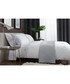 White & grey cotton single duvet set Sale - lyndon Sale