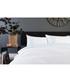 White & aqua cotton king duvet set Sale - lyndon Sale