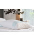 White & aqua cotton single duvet set Sale - lyndon Sale