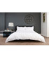 Montpellier white & grey cotton double duvet set Sale - lyndon Sale