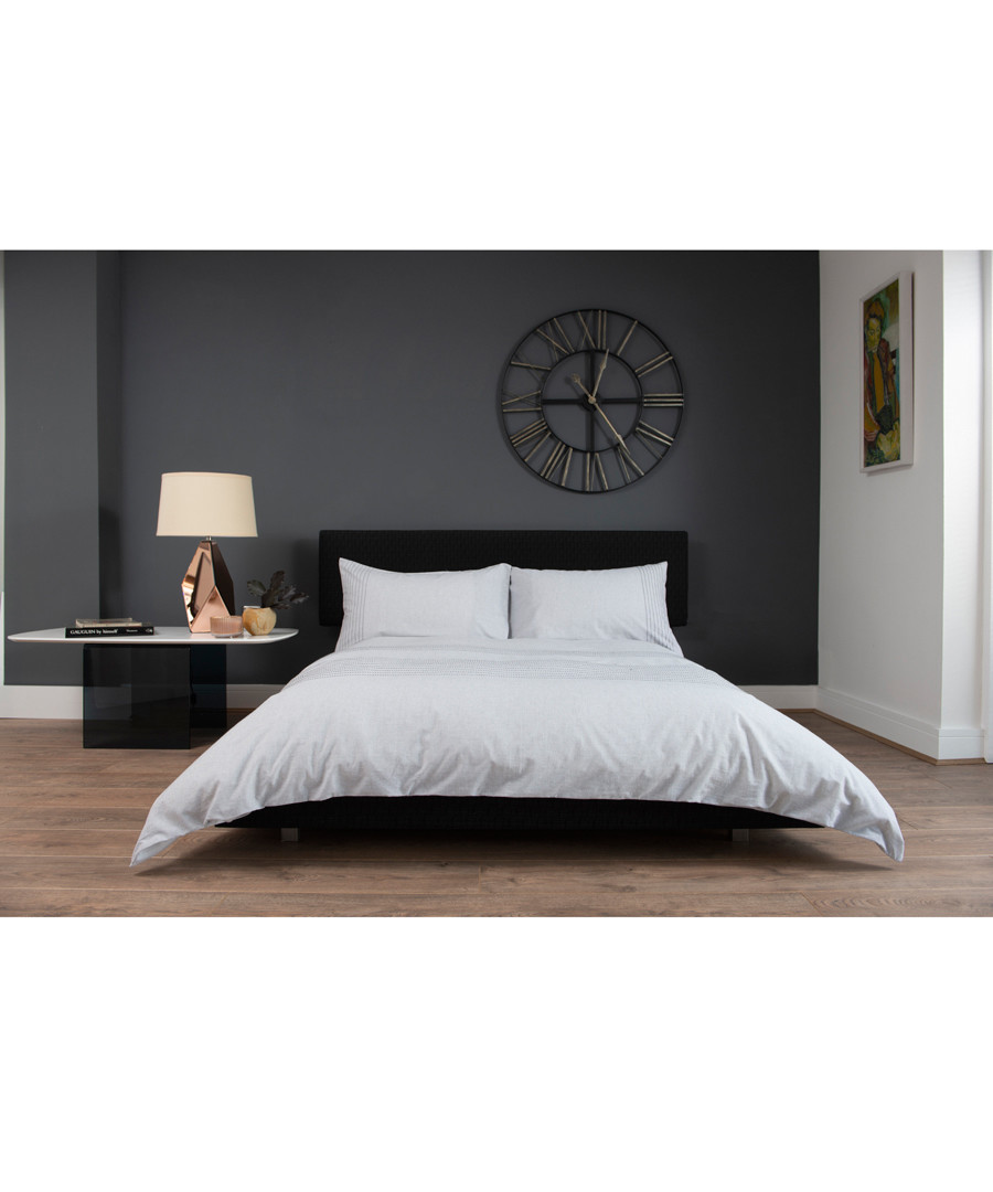 Nimes white cotton single duvet set Sale - lyndon