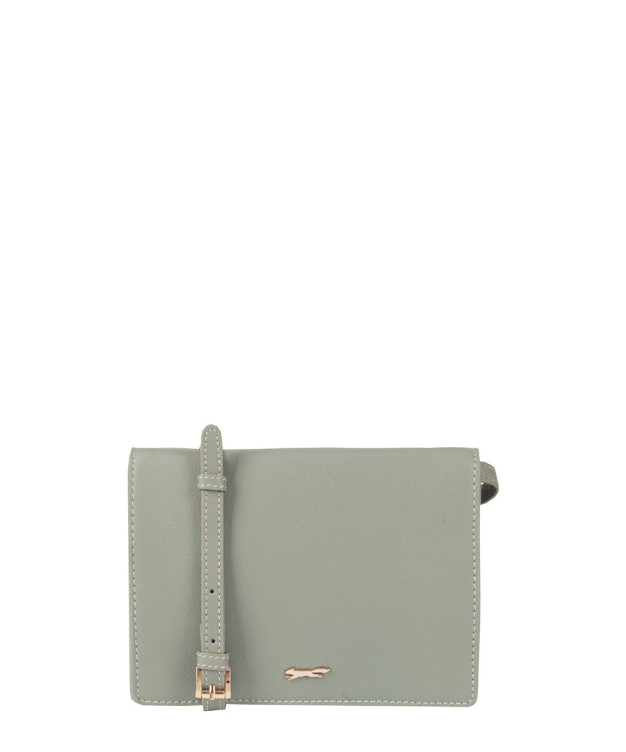 The Buckley Green Leather Cross Body by Paul Costelloe                                      Sold Out